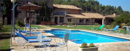 Casa rural a Horta de Sant Joan-La Senia de Don Pedro