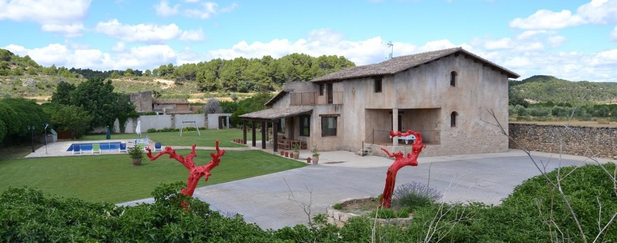Vila dels plans casa rural a horta de sant joan - Casa rural sant marc ...